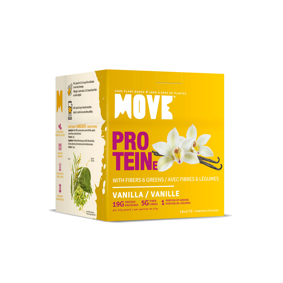 Protein with Fibers & Greens (Box 10 x 27g, Vanilla)