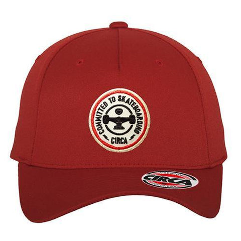 C1RCLE Flexfit Cap - Red