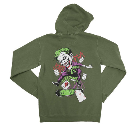Hoodie CARDS - Military Green - C1RCA FOOTWEAR | Official Website
