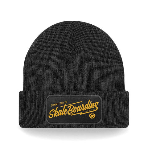 Committed Thinsulate Beanie - Black - C1RCA