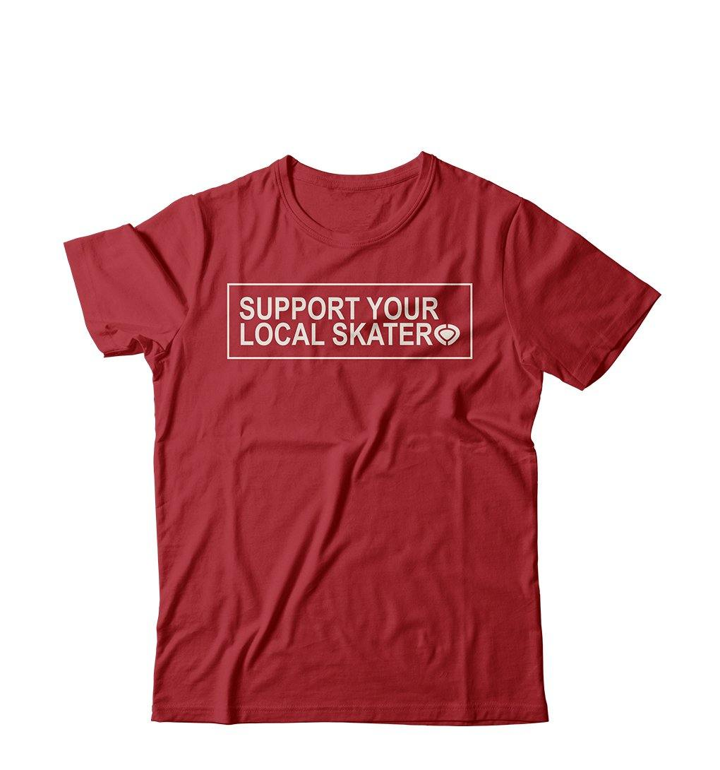 T-Shirt LOCAL - Red - C1RCA Italia