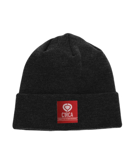 Flag Foster Beanie - Black - C1RCA FOOTWEAR | Official Website