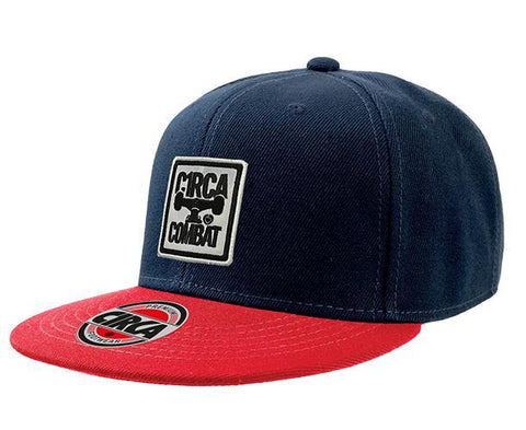 Cap COMBAT - Navy/Red