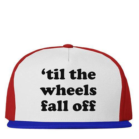 Snap 80'S WHEELS - White/Red/Royal Blue