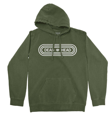 Hoodie DEAD HEAD - Military Green - C1RCA FOOTWEAR | Official Website