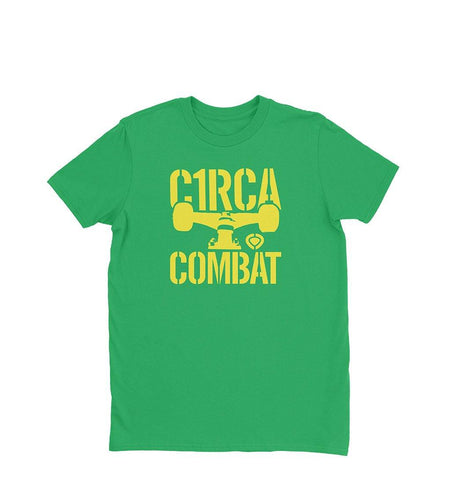 T-Shirt COMBAT - Green - C1RCA FOOTWEAR | Official Website