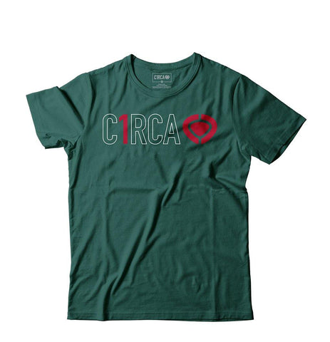 DIN ICON TRACK T-Shirt - Forest Green