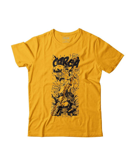 Copia del T-Shirt NO WAR - Golden