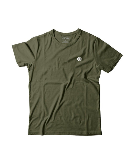 MINI ICON T-Shirt - Military Green - C1RCA FOOTWEAR | Official Website
