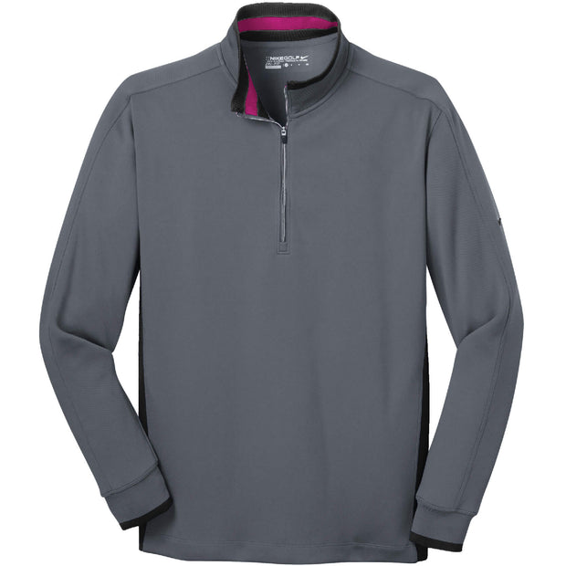 RDOT008. Men's Nike Dri-FIT 1/2-Zip Cover-Up