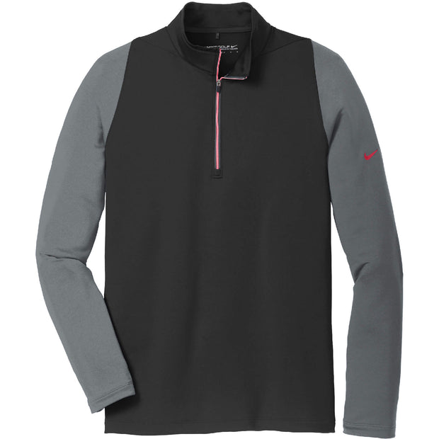 RDOT009. Men's Nike Dri-FIT Stretch 1/2-Zip Cover-Up