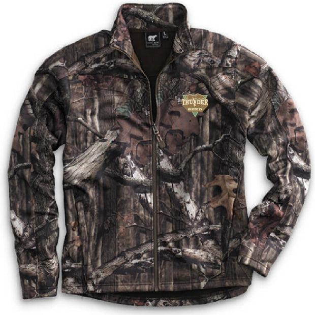 TSUS116. Men's Mossy Oak Camo Full-Zip