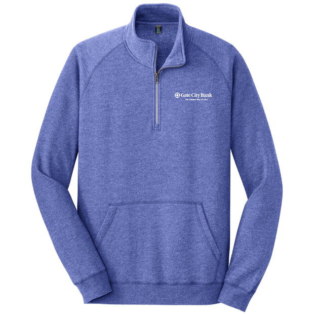 GC122. Men's District® Lightweight Fleece 1/4-Zip Pullover