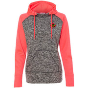 TSCA209. Ladies' Fleece Hooded Pullover Sweatshirt