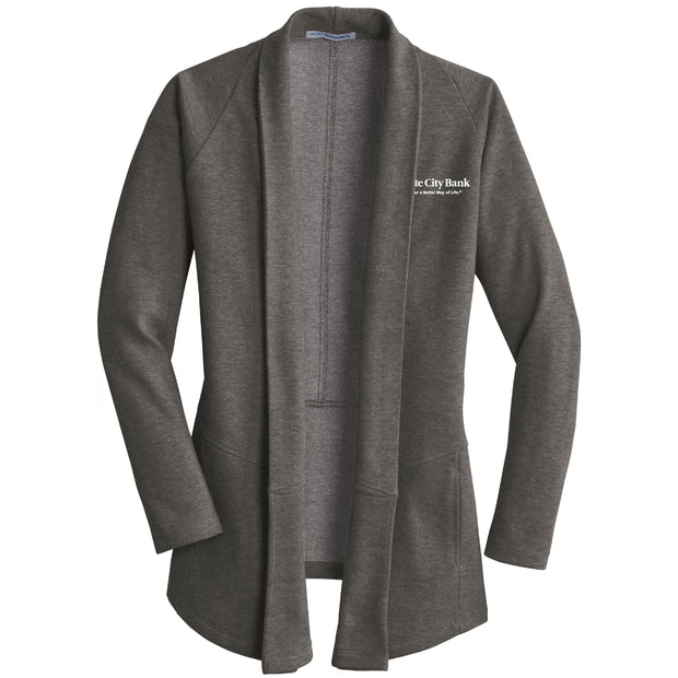 GC223. Women's Port Authority® Interlock Cardigan