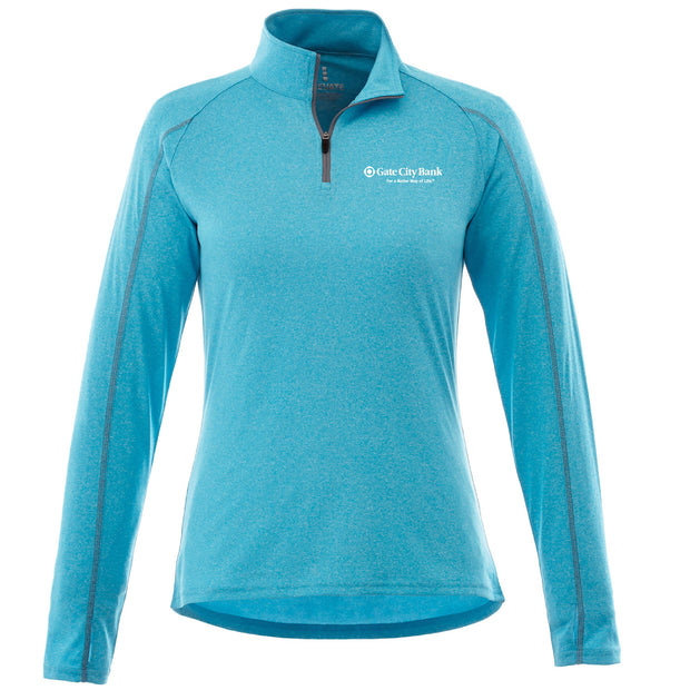 GC226. Women's Taza Knit 1/4-Zip Pullover