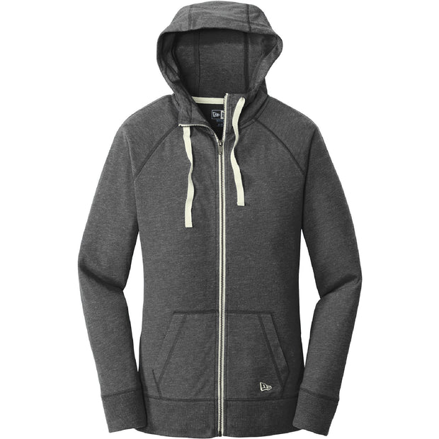 BYTE113. Women's New Era® Sueded Cotton Blend Full-Zip Hoodie
