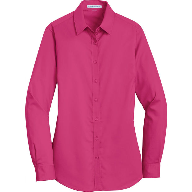 BYTE108. Women's Port Authority® SuperPro™ Twill Shirt