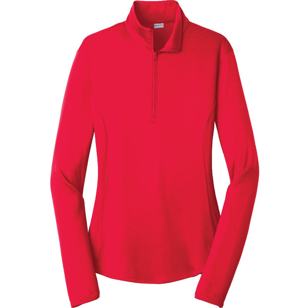 BYTE115. Women's Sport-Tek® PosiCharge® Competitor™ 1/4-Zip Pullover