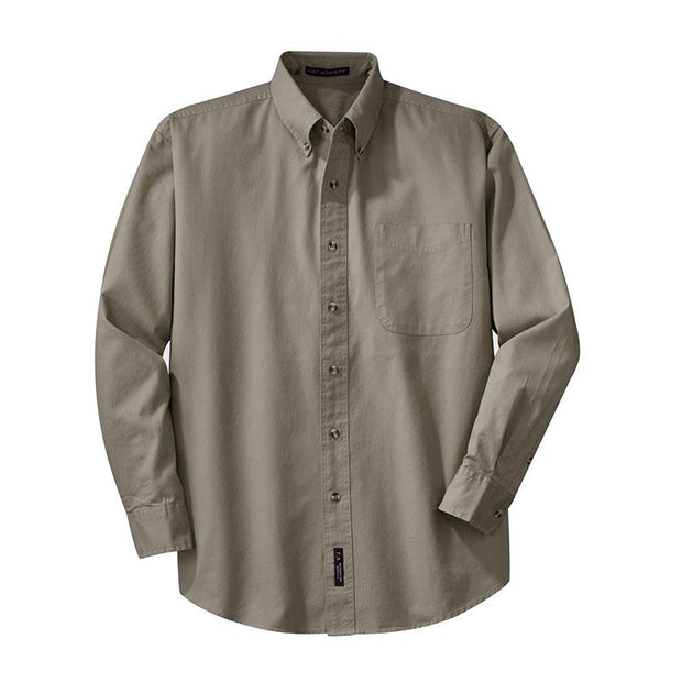 ACS207. Men's Port Authority® Long Sleeve Twill Shirt