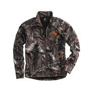 ACS208T. Men's Tall White Bear Mossy Oak Camo Full-Zip Pullover