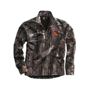 ACS209. Men's White Bear Mossy Oak Camo ¼-Zip Pullover
