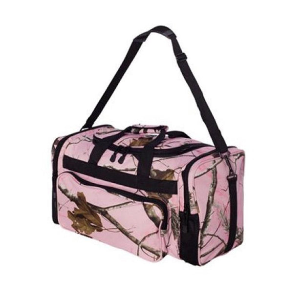 ACS503. Camo Duffle Bag w/ Shoulder Strap