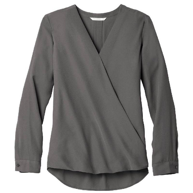 BB1060. Ladies' Wrap Blouse