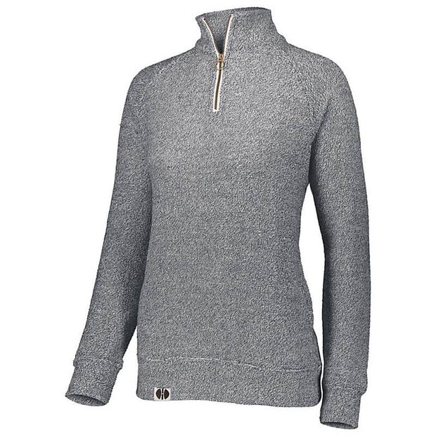 BB1066. Ladies' Cuddly ¼ Zip Pullover