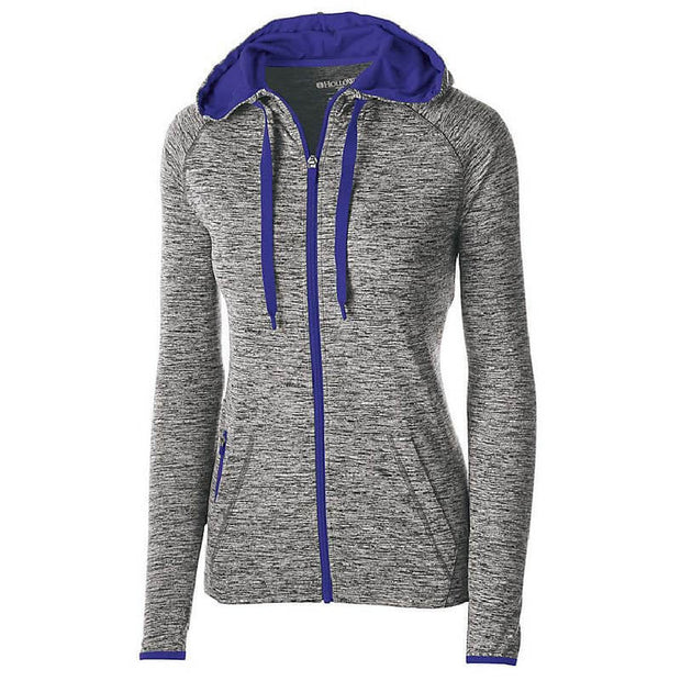 BB1068. Ladies' Force Full-Zip Hooded Pullover