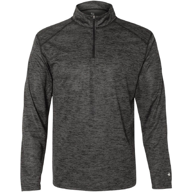 BB2017. Men's Tonal Blend 1/4-Zip Pullover