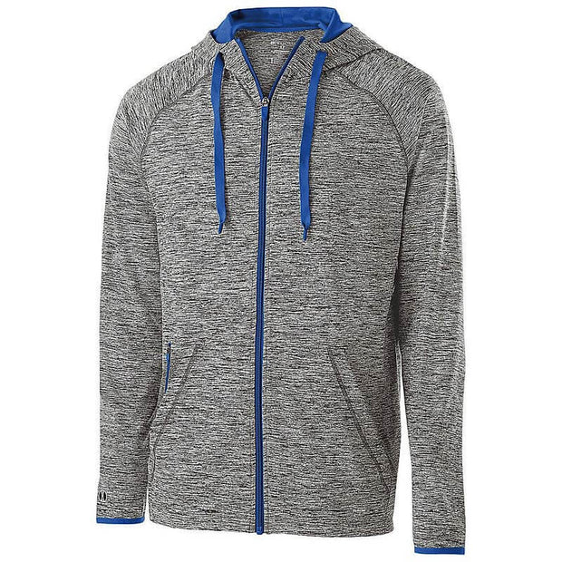 BB2052. Men's Force Full-Zip Hooded Pullover