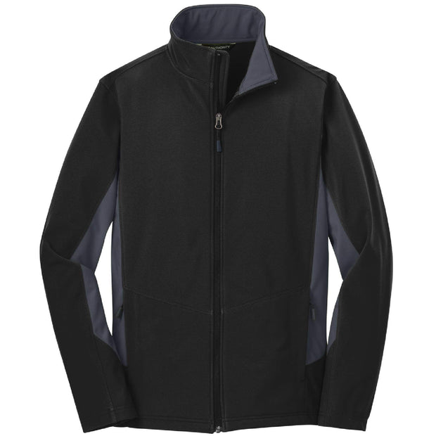 BB2024. Men's Core Colorblock Soft Shell Jacket