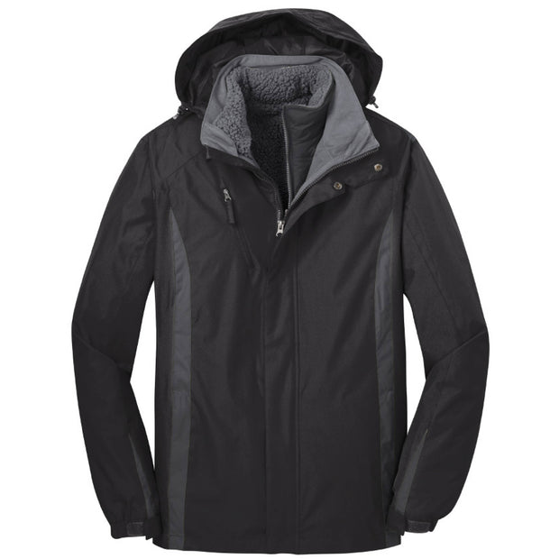 MPM118. Port Authority® Colorblock 3-in-1 Jacket