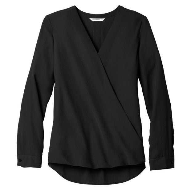 MPM207. Port Authority ® Ladies Wrap Blouse