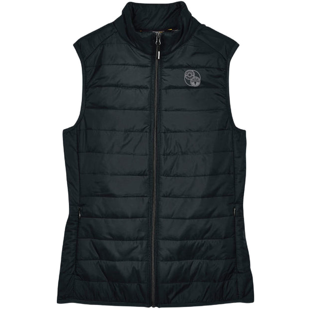 ACS124. Women's Packable Puffer Vest