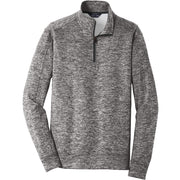 BYTE218. Men's Sport-Tek® PosiCharge® Electric Heather Fleece 1/4-Zip Pullover