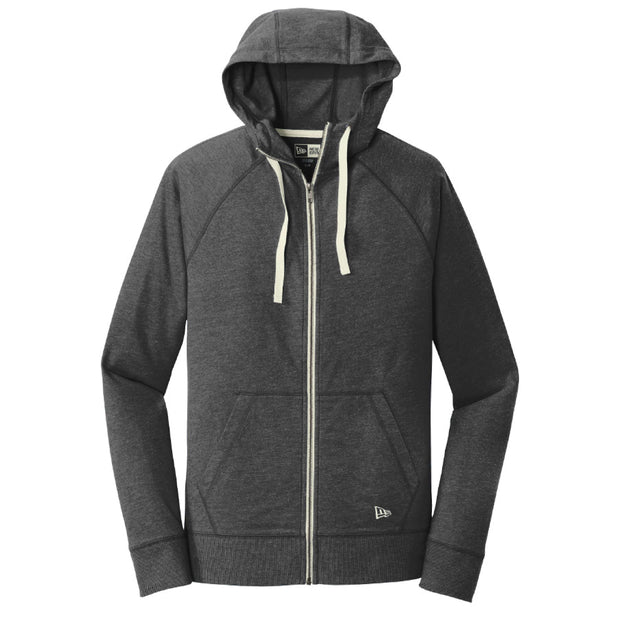 CAPLP204. Men's Sueded Cotton Blend Full-Zip Hoodie