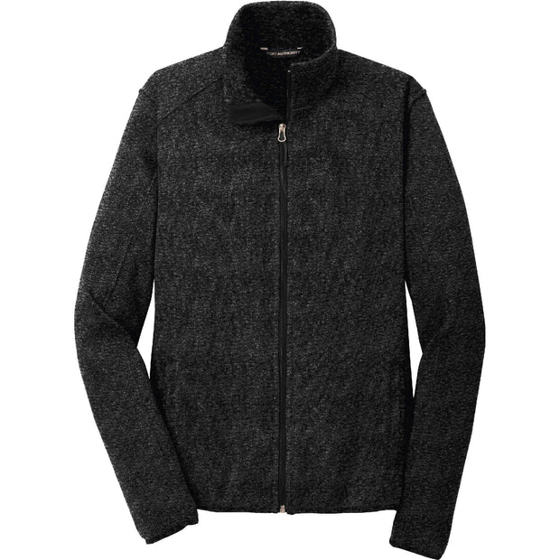 GC127. Port Authority® Sweater Fleece Jacket