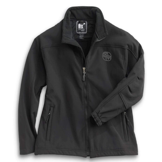 ACS112. Women's White Bear Softshell Jacket
