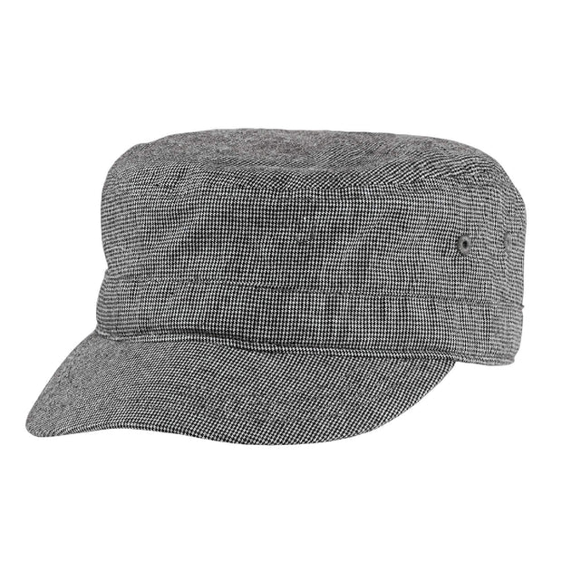 GC400. District® Houndstooth Military Hat