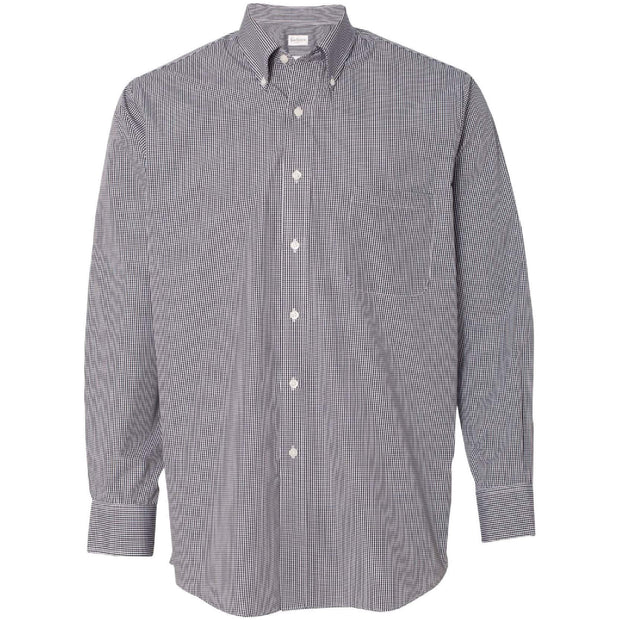 BB2010. Men's Gingham Checkered Shirt