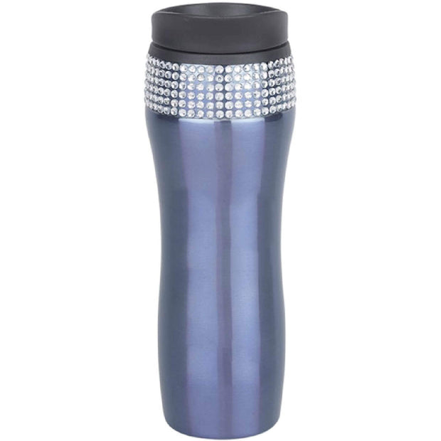 BB4025. Stainless Steel Gem Bling Tumbler