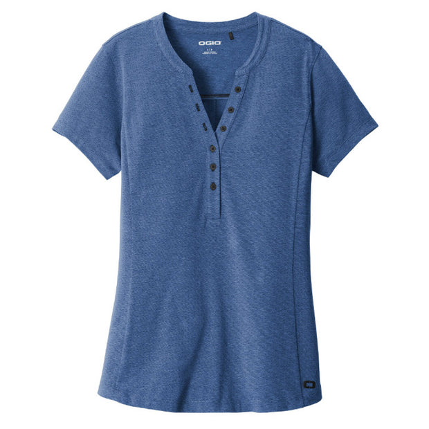 MPM203. OGIO ® Ladies Tread Henley