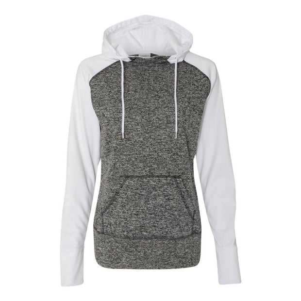 MPM217. Ladies' Colorblock Cosmic Fleece Hoodie