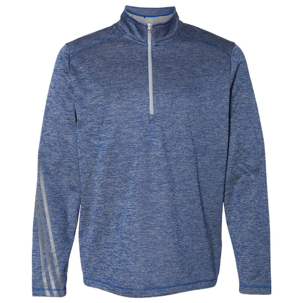 BB2048. Men's Brushed Terry Heather ¼ Zip Pullover