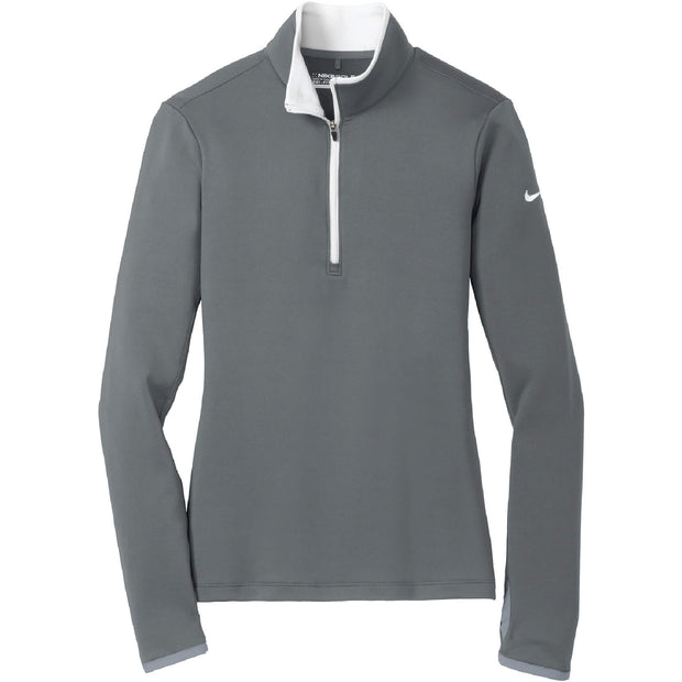 AS108. Women's Nike Dri-FIT Stretch 1/2-Zip Cover-Up