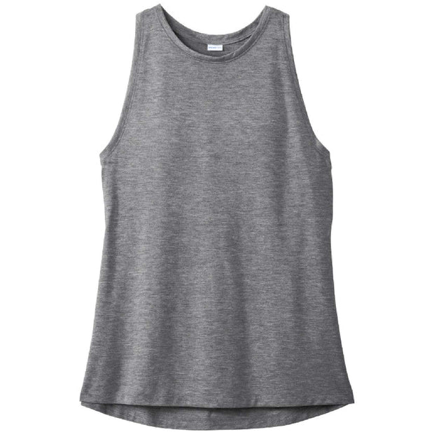KM200. Ladies' PosiCharge Tri-Blend Wicking Tank