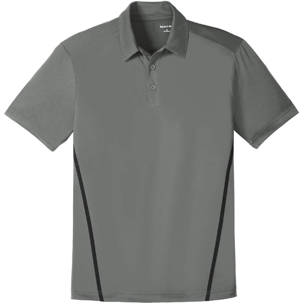BYTE207. Men's Sport-Tek® Contrast PosiCharge® Tough Polo®