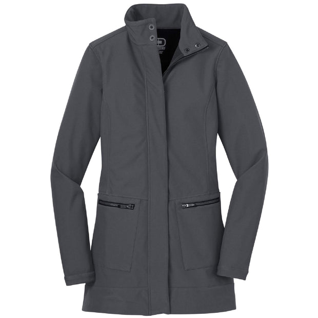 BB1069. Ladies' Intake Trench Coat
